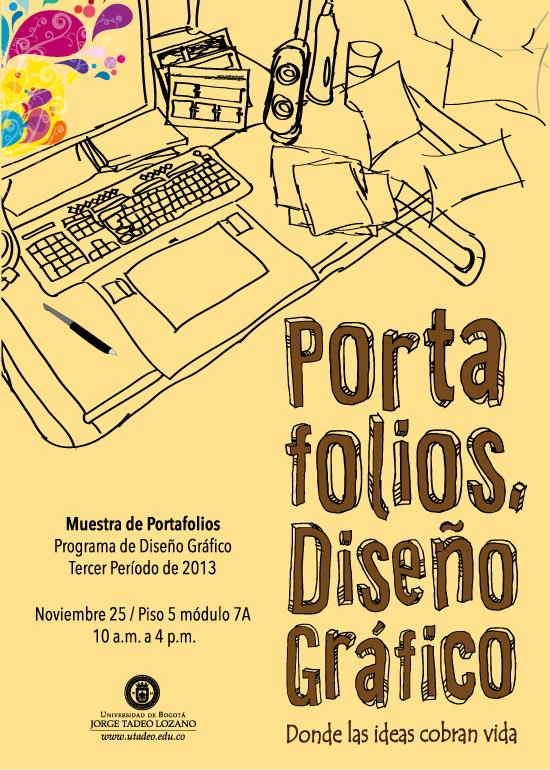 Muestra de portafolios programa de dise o gr fico for Portafolio de diseno grafico pdf