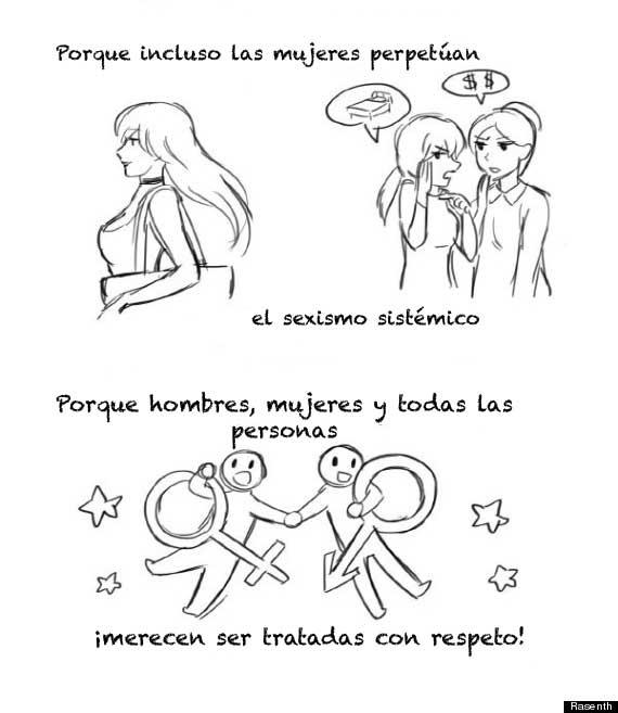 En El Comic Se Dice Feminismo Para Todos Universidad De Bogota