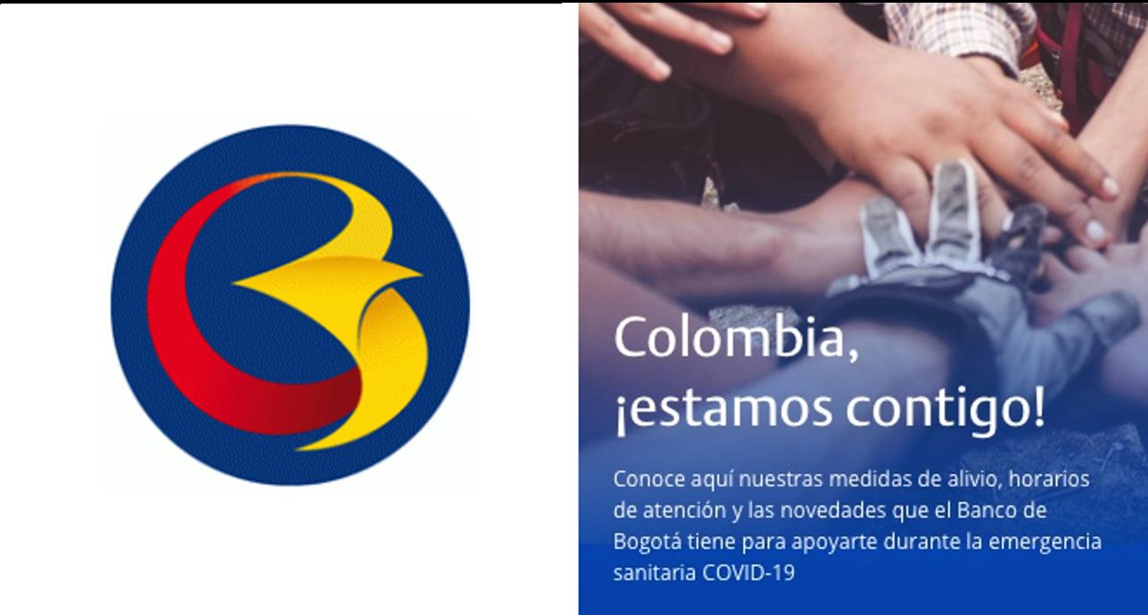 El Banco De Bogota Del Grupo Aval Da A Conocer El Plan De Alivios Financieros Universidad De Bogota Jorge Tadeo Lozano