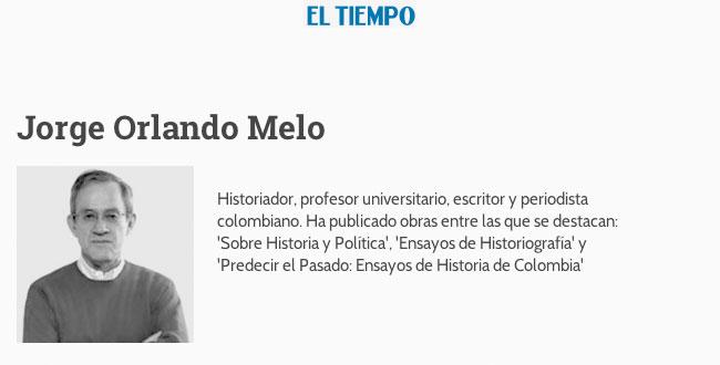 Jardines para pájaros: columna de Jorge Orlando Melo para El Tiempo |  Universidad de Bogotá Jorge Tadeo Lozano