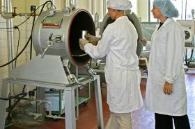 Laboratorio de Ingeniería de Alimentos en 2007