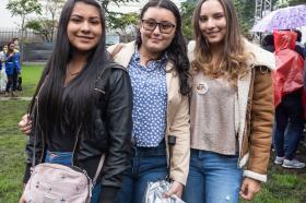 Nuestra representante estudiantil también hizo parte de la celebración. Foto: Camila Fiaga, Paula Parra y Mónica Reina.
