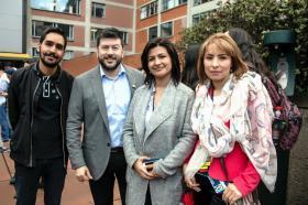 Santiago Rubiano, Javier Jiménez, Claudia Rocha, Sonia Perilla Santamaría