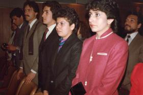 Graduación de la promoción de Ingeniería de Alimentos de 1984
