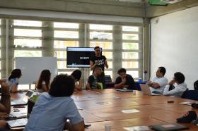 """Óscar Guardiola Rivera lideró el Seminario """"Calibán 2.0"""" en la U Tadeo Caribe."""