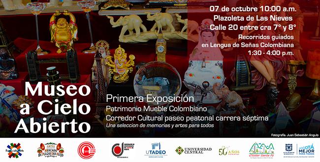 Utadeo participar en la primera exposici n del patrimonio for Patrimonio mueble
