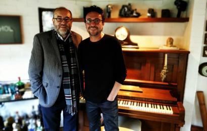 Rogelio Delgado y Andrés Cepeda
